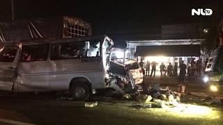 Tai nạn liên hoàn tại Xuân Lộc - Đông Nai, 12 người thương vong | NLĐTV