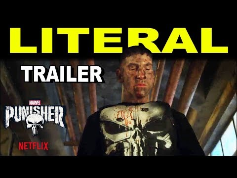 LITERAL : Marvel's The Punisher    HD  Netflix