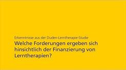 Forderungen | Duden-Lerntherapie-Studie