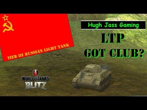 World of Tanks BLITZ  LTP Christmas Gift Tank