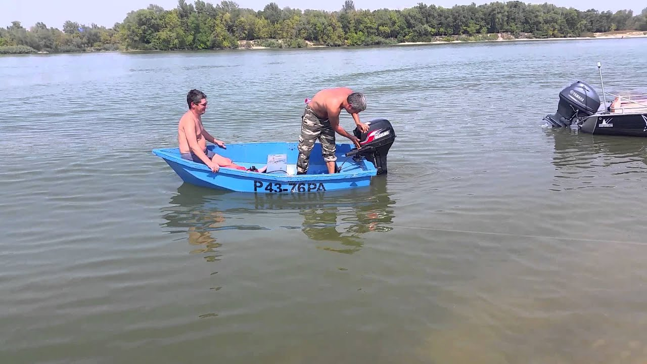 Разборная лодка «Малютка» - YouTube