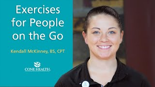 Exercises for People on the Go