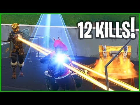 12 KILL TILTED TOWERS VICTORY ROYALE!