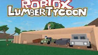 NOUS TERMINONS LA CONSTRUCTION DU GARAGE! LUMBER TYCOON 2 [10] - FRANCE #32 ROBLOX