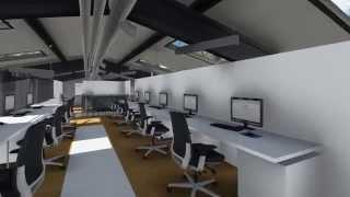 Abakon - animacja prezentujaca siedzibę firmy