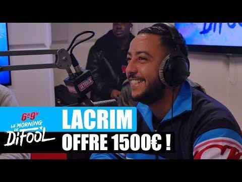 Lacrim offre 1500€ à une auditrice ! #MorningDeDifool