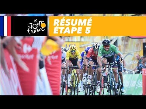 Résumé - Étape 5 - Tour de France 2018