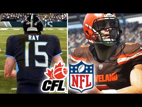 Can The Best CFL Team Beat The Worst NFL Team? Madden 19 Challenge