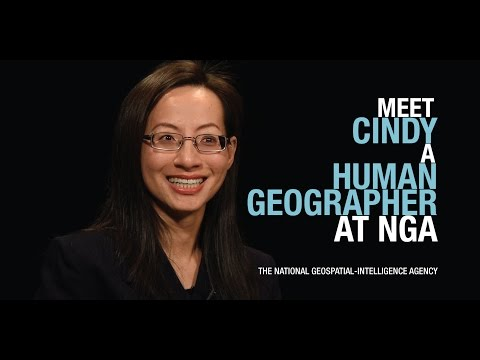 Meet Cindy, NGA human geographer