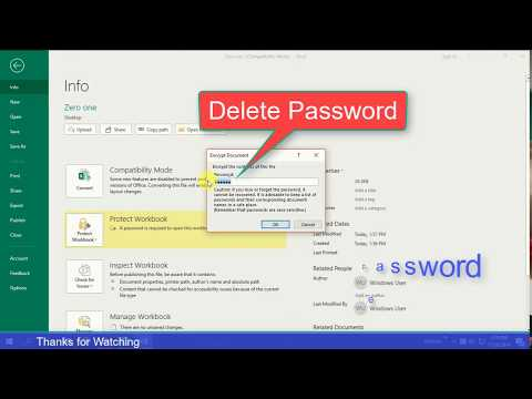MS Word & Excel Password Protect Your Confidential Document Without Software