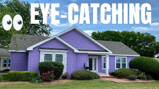 Bet you haven't seen a home like this one!?! New eye-catching triple wide! Mobile Home Tour