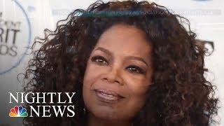 Oprah's Golden Globes Speech Sparks Presidential Speculation | NBC Nightly News