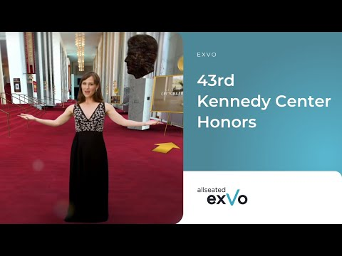 Allseated exVo to Power Kennedy Center's Honors Gala Hub