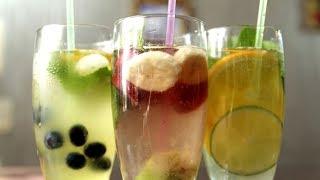 3 вида летних напитка