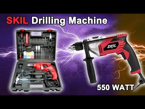 SKIL Power Drilling Machine   Complete Review   550 Watts