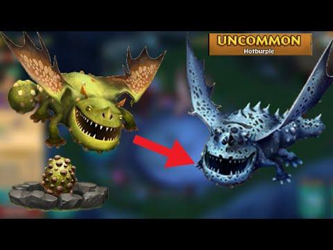 Hotburple Max Level 134 Titan Mode - Dragons:Rise Of Berk