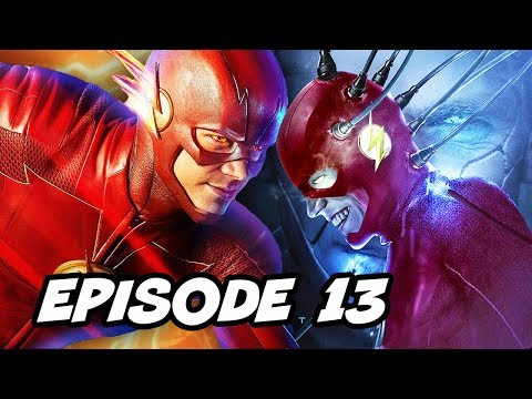 The Flash 4x13 - The Flash vs The Thinker Episode TOP 10 WTF and Easter Eggs