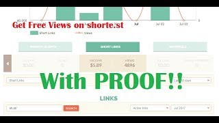 How To get Upto 5000 Views On Your shorte.st Links In Just 2 Minutes! With Live PROOF!! 100% Works