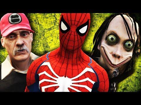 GTA V PC - Spider-Man PS4, MOMO, Fahur, Kratos E Mais (MODS)