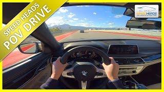 POV Drive - BMW M760Li xDrive V12 (610 PS) Onboard Test Drive