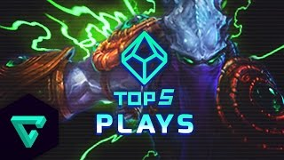 Top 5 Plays : Heroes of the Storm (Gameplay) - Ep. 11 /w MFPallytime | Heroes of the Storm Gameplay
