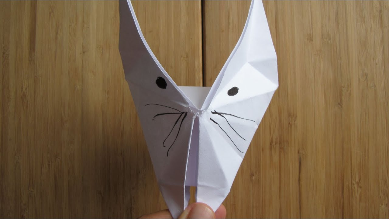 comment faire un chat en origami papier youtube. Black Bedroom Furniture Sets. Home Design Ideas