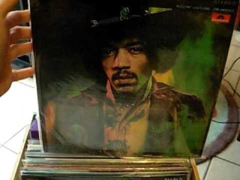 Hendrix LPs vinyls records collection - Barclay Track Polydor Japan