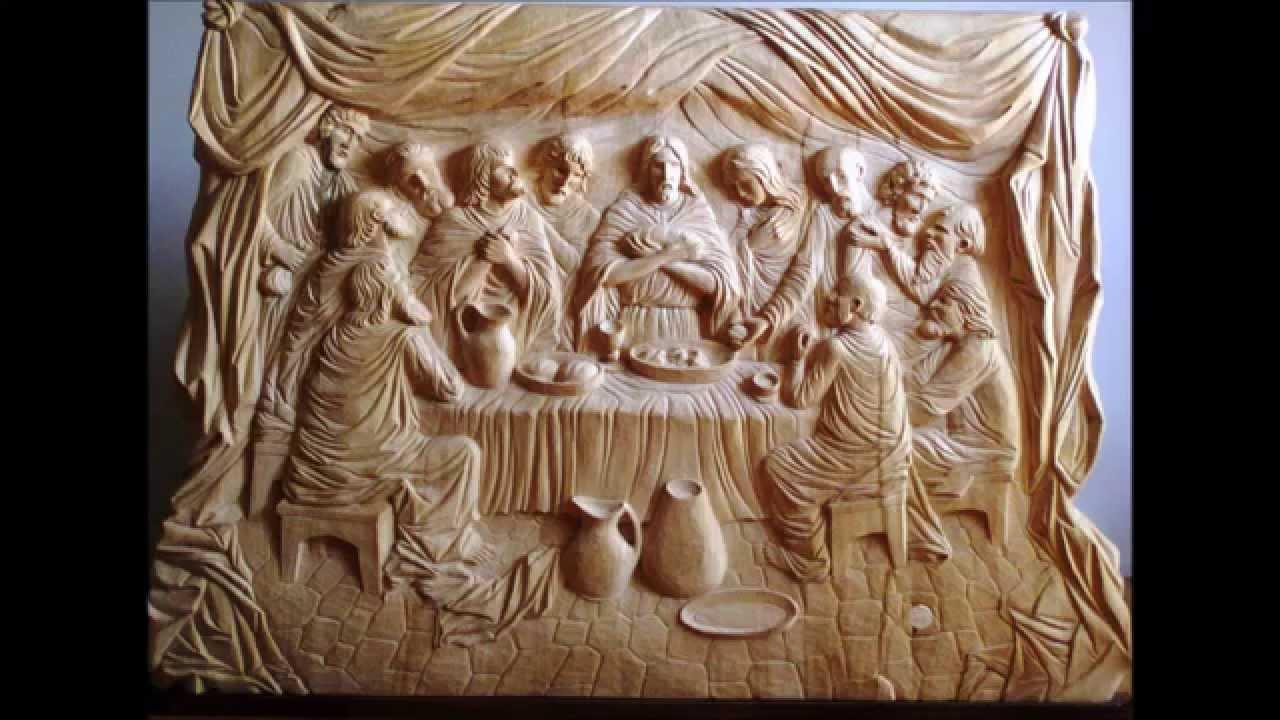 The last supper wood sculpture by krzysztof Śliwka poland youtube