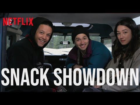 The Society Cast Tries Snacks From Australia & The US | Netflix