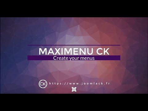 Maximenu CK V9 - Megamenu Dropdown, Multicolumns, Multirows, Fullwidth, Easy Styling For Joomla