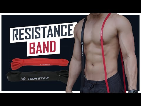 วิธีการเลือกขนาดและการใช้ยางยืด Resistance Band