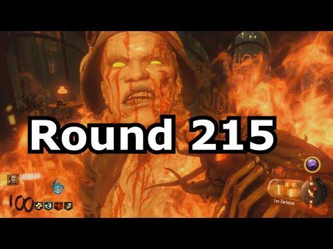 Round 215 Shadows Of Evil Reset/Error