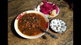 армянский Суп с Авелуком (Конский шавель)! Вкусно и полезно