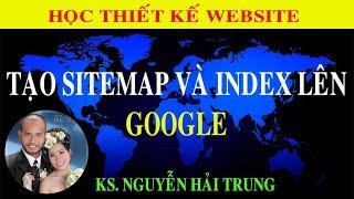 Tạo sitemap và index lên Google | Tủ Sách Vàng
