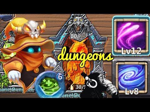 Spirit Mage | SM | 12 Skill | Empower | Regenerate | Dungeons | Castle Clash