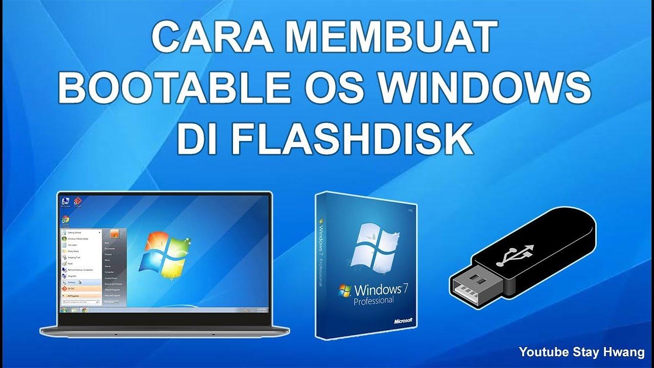 Cara Membuat Flashdisk Bootable Windows Dengan Rufus Youtube