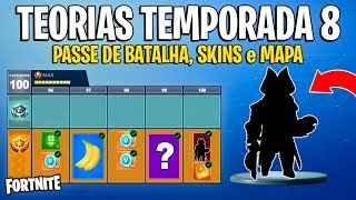 FORTNITE-THEORIES SEASON 8 (BATTLE PASS, SKINS, MAP et ITEMS)