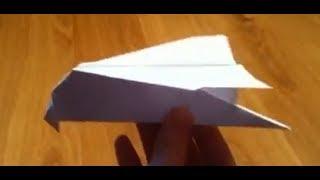 faire un oiseau planeur en origami oiseau qui vole en papier from youtube. Black Bedroom Furniture Sets. Home Design Ideas