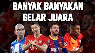 Klub Trofi Terbanyak Abad 21! Banyak yang Tidak Tertebak Selain Barcelona dan Bayern Munchen