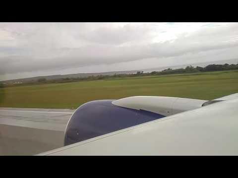 DL Delta Air Lines  Boeing 757-200G landing to Saipan SPN Airport