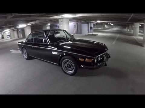 1973 BMW 3 0 CS walk around video