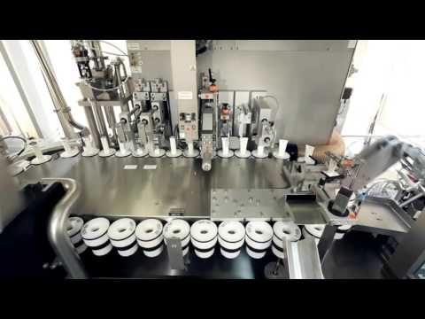 IWK - Pharmaceutical Tube Filling Line with Laminar Flow