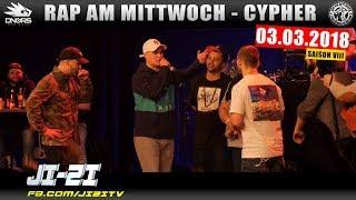 RAP AM MITTWOCH STUTTGART: 03.03.18 Die Cypher feat. JI-ZI, TOBI NICE, DROB DYNAMIC uvm. (1/4)
