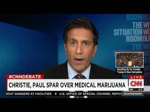 Marijuana: Sanjay Gupta Fact-Checks Chris Christie