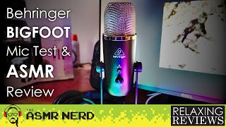 BIG Tingles!   Behringer BIGFOOT All-In-One USB Microphone ASMR Test & Review   Sponsored by JORD