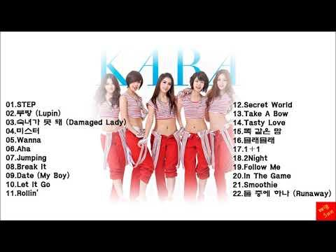 카라 모음 22곡 (K-pop) Kara Best Collection 22 Songs