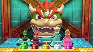 Mario Party The Top 100 MiniGames - Luigi Vs Mario Vs Peach Vs Rosalina (Master Difficulty)