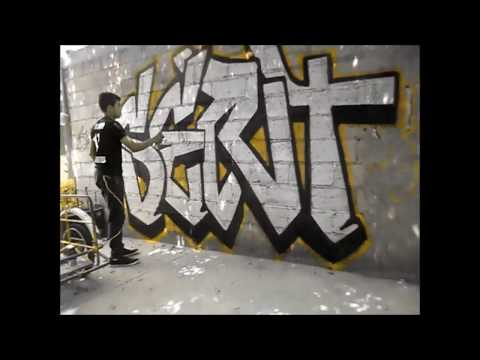 Creative Lettering Inspiration Compilation #003 -- Graffiti Time-Lapse