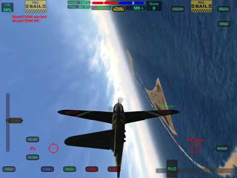 Zero performs like normal with half a tail plane missing