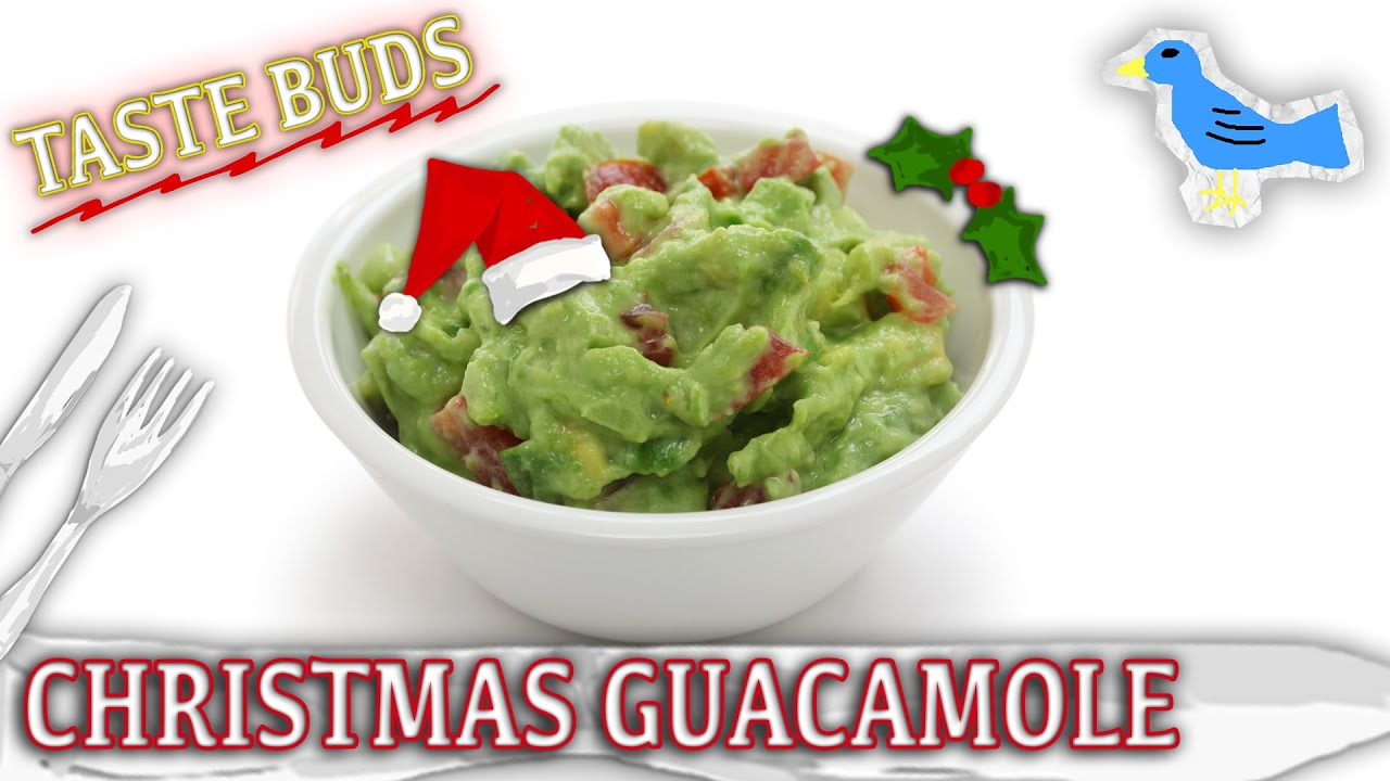 Christmas Guacamole Recipe - Healthy Fun For Kids, Adults & Everyone ...
